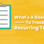Track Recurring Tasks