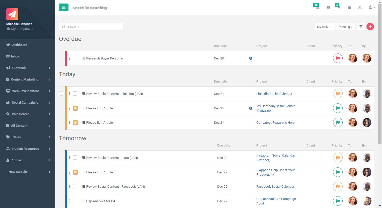 types of tasks in Gryffin
